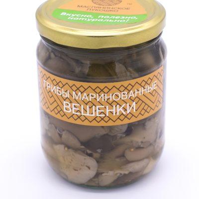 грибы маринованные вешенки производитель Маслянинское Лукошко