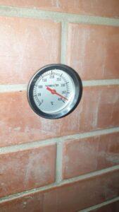 термометр в печи