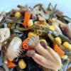 салат с вешенками океанский бриз